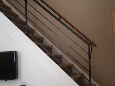 I33 Interior Iron Railing