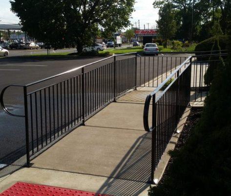 EC2 Commercial A.D.A Handicap Ramp With Open Space