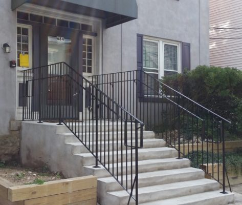 EC6 Simple Style Guard Railing With Grab Rail