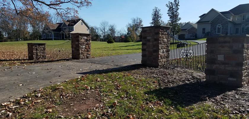 EG 10 Exterior Entrance Gate.